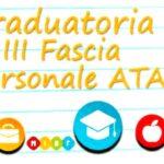 Graduatorie d'Istituto definitive III Fascia ATA